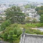 松本城の6階から